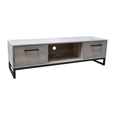 tv-dressoir-evia-BM0188-tower-metaal-greepjes-onderstel-zwart-gepoedercoat-living-eiken-eikenhout-hout-white-wash-wit-gewit-industrieel-stoer-dressoir