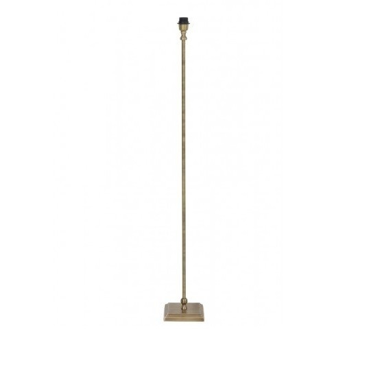 Vloerlamp antiek brons 18 cm