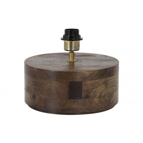 Lampenvoet hout bruin Ø 25 cm