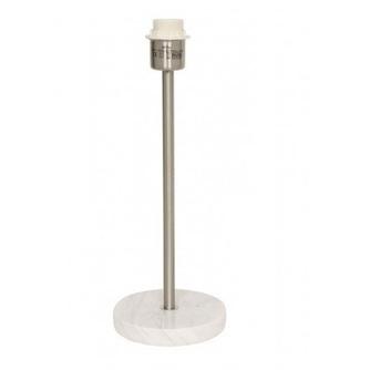 lampenvoet-marmer-wit-o-15-cm-1714206-light-&-living-metaal-rvs-zilver-E27