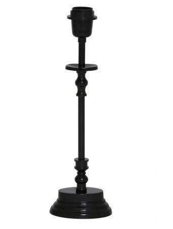 lampenvoet-metaal-zwart-glans-81104858-Light-&-Living-12-cm-hoogte-40-cm-ovaal
