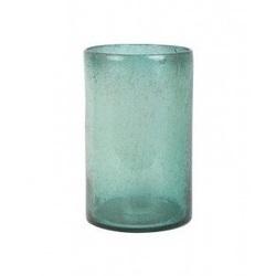 vaas-diameter-21-cm-x-32-cm-glas-groen-zeeblauw-rond-cilinder-light-&-living-parelmoer-glans-kaarsenhouder-windlicht-siervaas-6119376