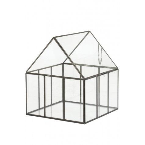 Deco box glazen huis