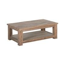 Teakhouten salontafel rechthoekig