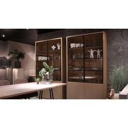 glaskast-puur-egk091-glazen-deuren-gesloten-deuren-metaal-vermeer-eikenhout-rustiek-eiken-hout-metaal-2drs-industrieel-modern-buffetkast-kast