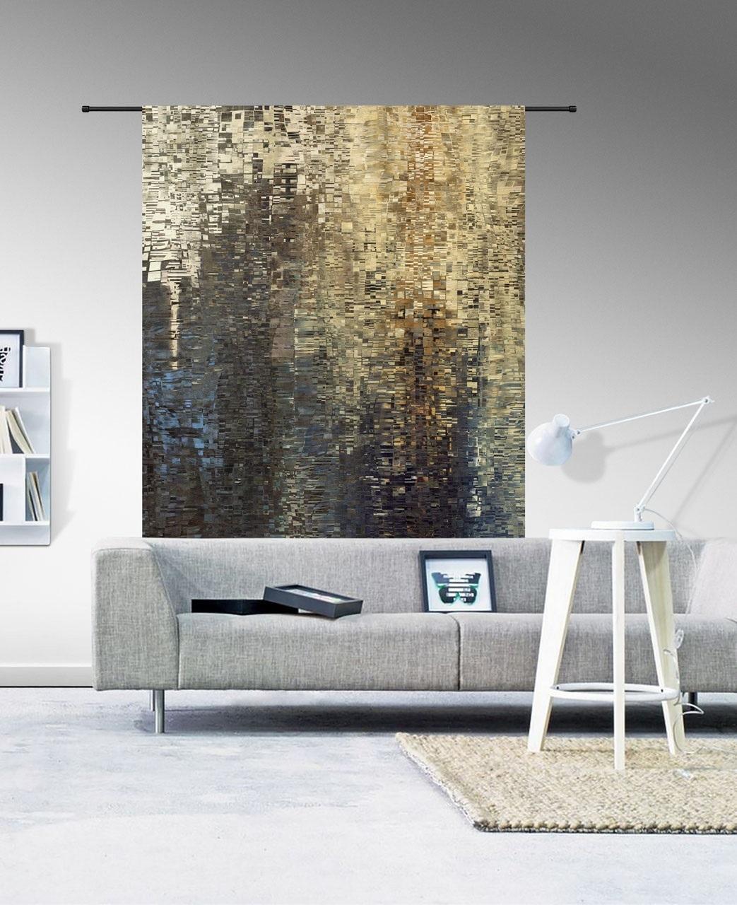 Wandkleed Drops 185 x 145 cm