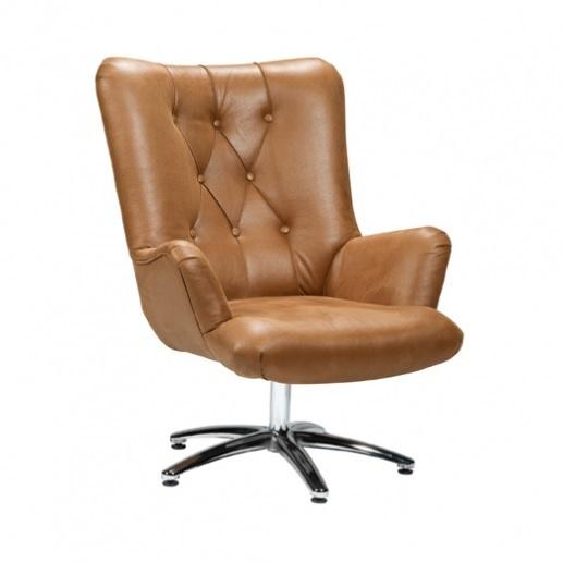 fauteuil-roy-draaibaar-armleuning-knopen-gecapitonneerd-stiksel-diverse-kleuren-ray-nix-design-cognac