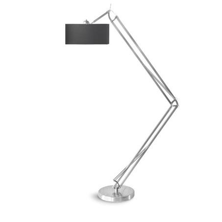 vloerlamp-milano-2-arms-antraciet-kap-rvs-its-about-romi-235-hoog-reikwijdte-140-cm-industrieel-voetschakelaar-verstelbaar