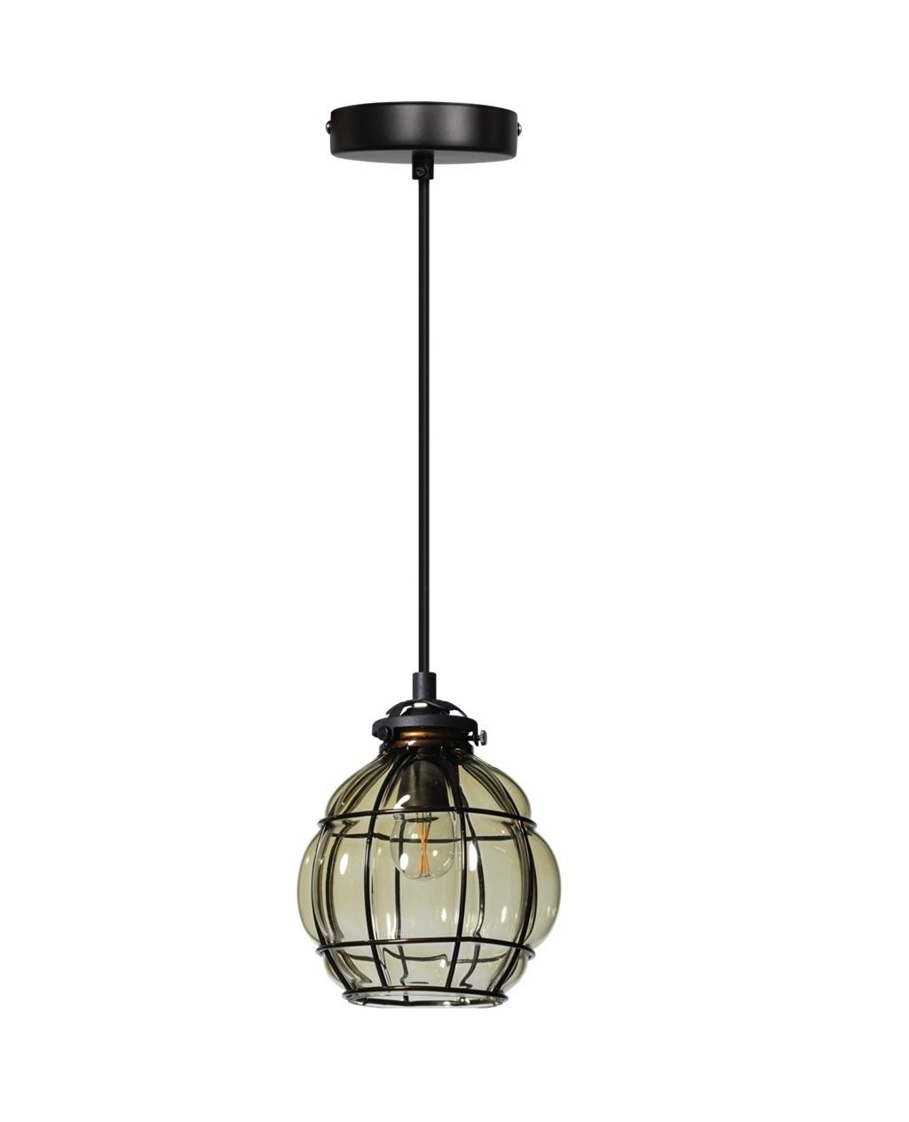 Hanglamp Vennice smokey 13 cm