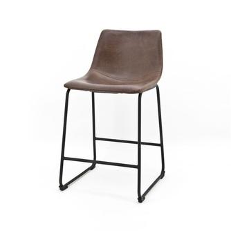 barstoel-logan-donkerbruin-laag-model-0815-byboo-metaal-onderstel-poot-pu-leder-kunstleer-vintage-kuipstoel-barkruk-kruk-stoel-hoge-stoel-bruin