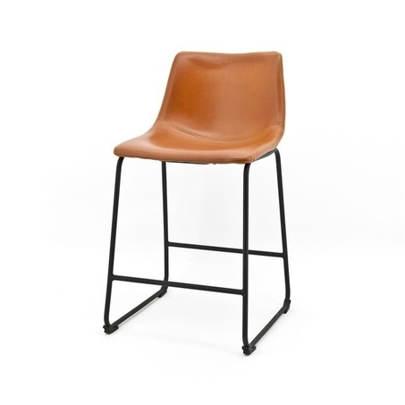 barstoel-logan-lichtbruin-laag-model-0814-model-0818-byboo-metaal-onderstel-poot-pu-leder-kunstleer-vintage-kuipstoel-barkruk-kruk-stoel-hoge-stoel-bruin
