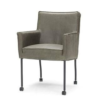 eetkamerstoel-apeldoorn-wieltje-metaal-pootje-armleuning-stoel-eetstoel-armstoel-leer-stof-verrijdbaar-zwart-metaal-haveco-modern-strakke-vormgeving