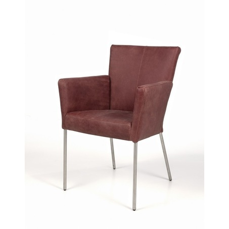 eetstoel-campino-eetkamerstoel-stoel-armleuning-leder-stof-leer-houten-poot-RVS-onderstel-verticaal-stiksel-industrieel-modern-strakke-afwerking-recor