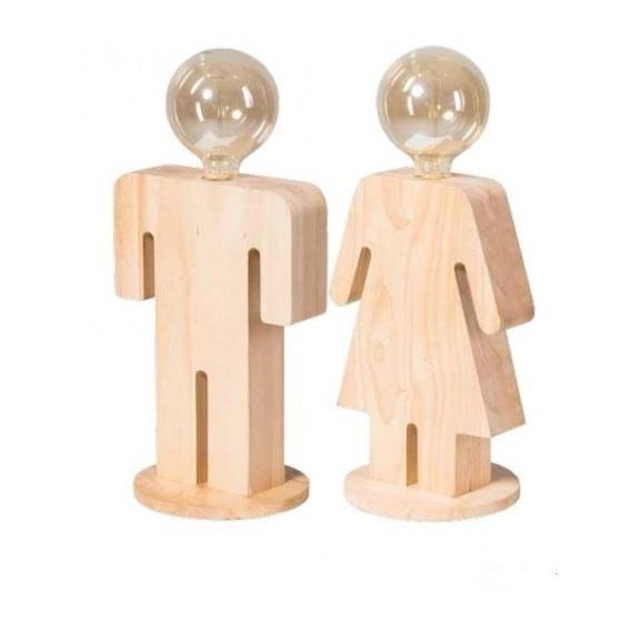 Set houtman & houtvrouw