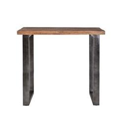 bartafel-mangohout-110-cm-zwart-metaal-onderstel-industrieel-stoer-metalen-poot-houten-blad-tropisch-robuust-eleonora-tafel-hoge-eettafel