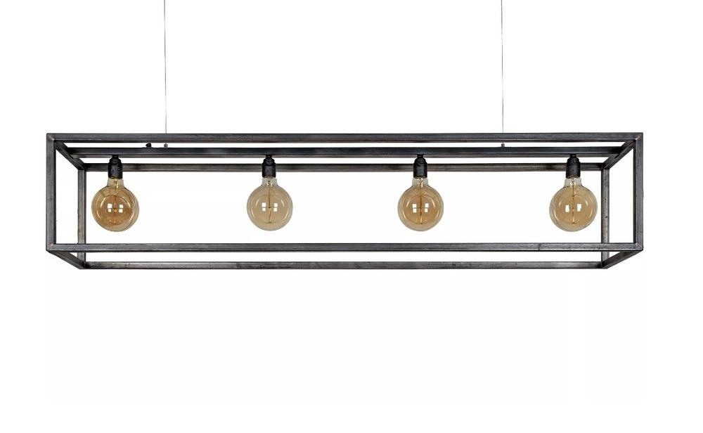 Uitzonderlijk Ztahl Hanglamp Rimini 4L zwart Kopen? AN66