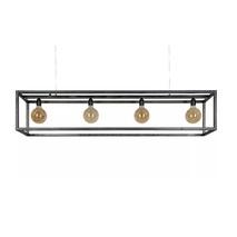 Hanglamp Rimini 4L zwart