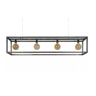 hanglamp-rimini-4l-zwart-metaal-stoer-industrieel-rechthoek-eettafel-4-lichtbronnen-peertjes-lampen-open-skelet-ztahl