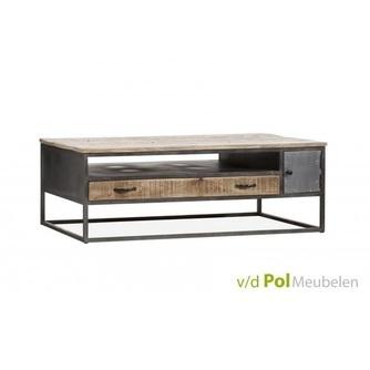 salontafel-mastercraft-130-x-70-cm-mfdesign-koffietafel-bijzettafel-rechthoekig-blad-mangohout-houten-tafelblad-gerecyced-ijzer-metaal-frame-industrieel-stoer-open-vak-tafel-tafeltje-zithoek-woonkamer