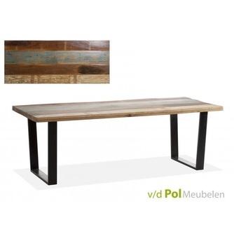 eettafel-mastercraft-vintage-upoot-metalen-ijzeren-onderstel-oud-mangohouten-blad-gerecycled-naturel-robuust-220x90-cm-industrieel-stoer-mfdesign-tafel-eetkamertafel