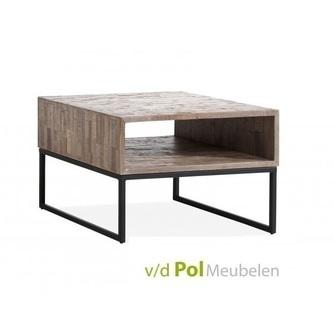 hoektafel-mastercraft-mf-design-teakhout-houten-kastje-dressoir-salontafel-bijzettafel-woonkamer-huiskamer-metaal-onderstel-frame-industrieel-stoer-open-vak