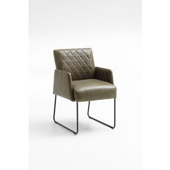 eetstoel-seattle-geruit-stiksel-rugleuning-stoel-modern-design-sledepoot-houten-poot-vegas-nouvion-stof-leer-armleuning-arm