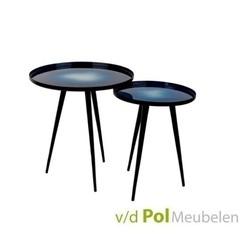set-bijzettafels-flow-blauw-setje-salontafels-tafeltjes-tafeltje-metaal-zwart-driepoot-gemêleerd-zuiver