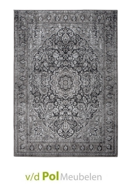 Vloerkleed Chi zwart 160 x 230 cm