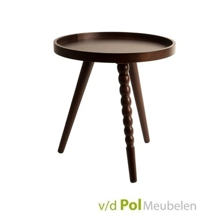bijzettafel-arabica-koffietafel-salontafel-tafeltje-tafel-hout-walnoot-donkerbruin-arabisch-driepoot-rond-hout-mdf-multiplex-zuiver