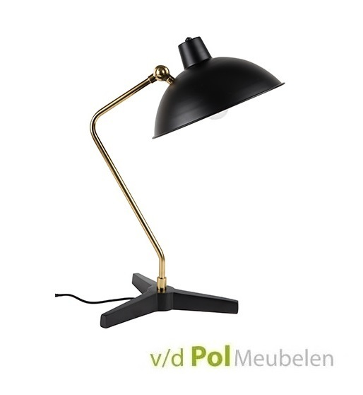 Tafellamp Devi zwart