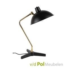 tafellamp-devi-zwart-lamp-desk-zuiver-black-modern-strak-goud-leeslamp-doorsnee-28-cm-kantoor-bureau