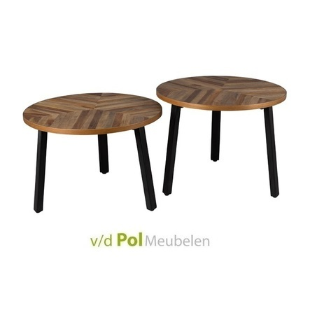 set-bijzettafels-mundu-salontafel-koffietafel-tafeltje-tafeltjes-zuiver-metalen-poot-visgraat-teakhout-warm-industrieel-stoer