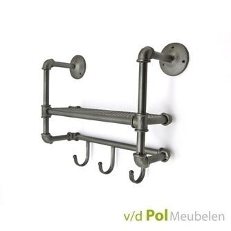 garderobe-kapstok-metaal-3-haaks-jassen-rek-hanger-hal-byboo-metaal-drie-haakjes