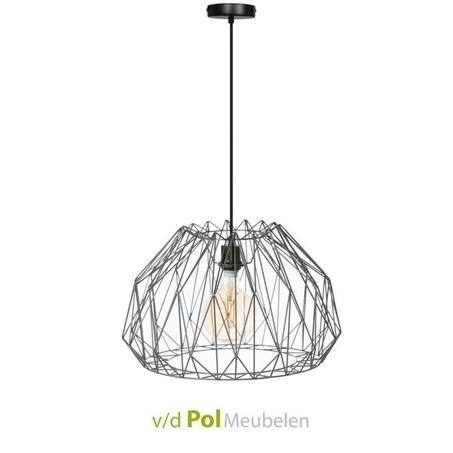 hanglamp-royale-o50-cm-industrieel-stoer-modern-metaal-spinnenweb-kooldraad-metaaldraad-lamp