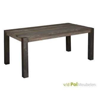 tafel-eettafel-wouter-160-200-240-cm-lengtematen-100-cm-breed-industrieel-stoer-metalen-poot-vintage-look-grenenhout-woonprogramma-tower-living