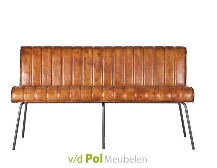 Eetbank Marvin cognac 160 / 200 cm