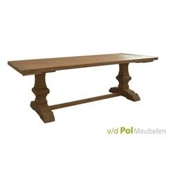 eettafel-le-mans-200-240-cm-tafel-kloostertafel-kloosterpoot-tafel-teakhout-robuust-rustiek-stoer-landelijk
