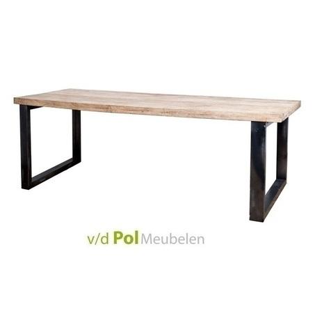 eettafel-mango-metalen-poot-zwart-200-240-300-cm-metaal-tafel-mangohout-industrieel-stoer-U-poot