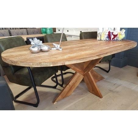eetkamertafel-teak-ovaal-200-220-240-cm-teakhout-landelijk-stoer-houten-poot-vintage-retro