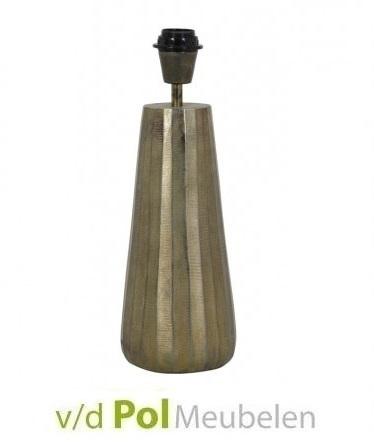 Lampenvoet ruw antiek brons