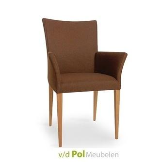 stoel-jack-arm-houten-poot-tapse-poot-stoer-landelijk-tijdsloos-eigentijds-nouvion-armleuning-armstoel-design-eetkamerstoel-eetstoel-stoffen-leersoorten