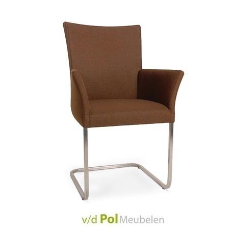 stoel-jack-arm-rvs-poot-freischwinger-eetkamerstoel-eetstoel-zilver-modern-hip-tijdloos-eigentijds-armleuning-rank-nouvion