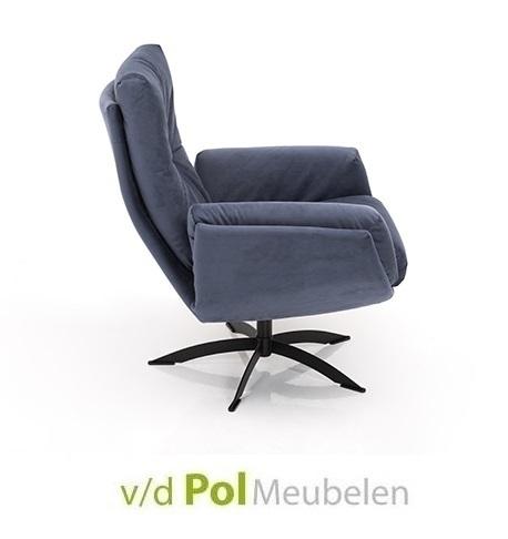 fauteuil-1443-hjort-knudsen-draaifauteuil-relaxfauteuil-draaibaar-verstelbaar-leer-stof-knoop-in-rugleuning-zithoek-modern-eigentijds-modern