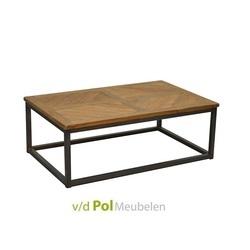 salontafel-bijzettafel-kleine-tafel-zithoek-koffietafel-metaal-onderstel-zwart-staal-visgraat-blad-tafelblad-rechthoek-rechthoekig-brix-industrieel-stoer-lou