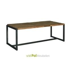 tafel-potenza-200-220-240-cm-eettafel-eethoek-tower-living-gerecycled-teakhout-teak-hout-metaal-industrieel-stoer
