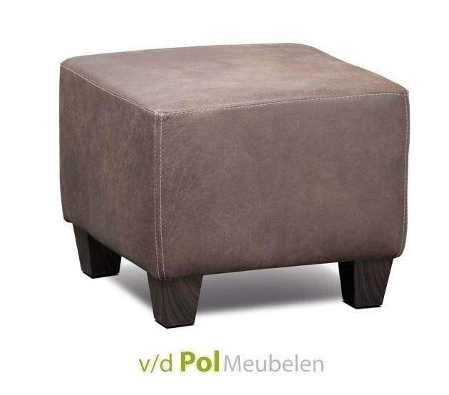 hocker-55-haveco-poef-voetenstoel-voetenbank-houten-poot-leder-leer-stof-vierkant-hoge-kwaliteit