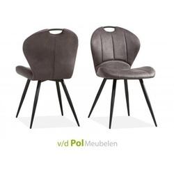 eetkamerstoel-stoel-eetstoel-microvezel-stof-softyl-miracle-maxfurn-metalen-poot-handgreep-vertikaal-stiksel-grijs-cognac-lichtbruin-pebble-kiezel-leem-antraciet-industrieel-stoer