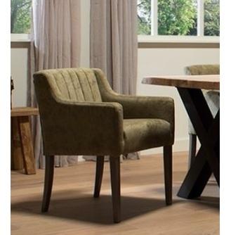 eetkamerstoel-eetstoel-stoel-eetkamerfauteuil-houten-poot-armstoel-stiksel-raven-urban-sofa-stof-leer-groene-stoel-zacht-goede-zit-klassiek-landelijk