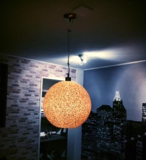 Hanglamp Globe Ø40 cm