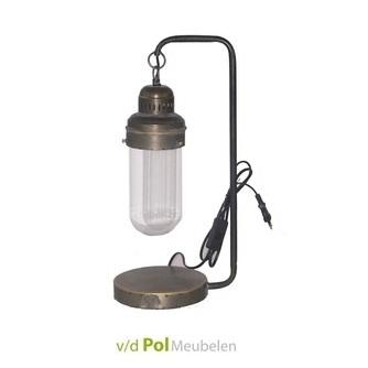 tafellamp-sherrod-industrieel-vintage-retro-glas-messing-metaal-lantaarntje-lantaarn-ptmd-nachtkastje-bureaulamp-leeslamp